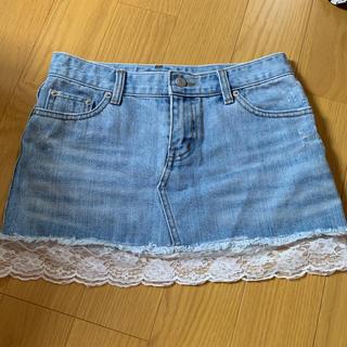 リズリサ(LIZ LISA)のデニムミニスカート  LIZ LISA(ミニスカート)
