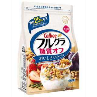 カルビー - フルグラ糖質オフ600g✖︎6袋