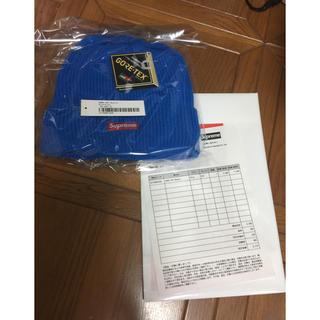 シュプリーム(Supreme)のSupreme GORE-TEX Beanie Blue (ニット帽/ビーニー)