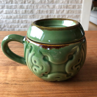 ジェンガラ(Jenggala)のジェンガラ ケラミック  蓋つき マグカップ(食器)