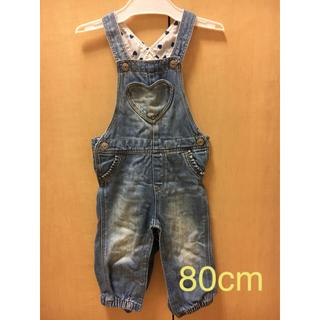 エイチアンドエム(H&M)のベビー 子供服 オーバーオール 80cm(パンツ)