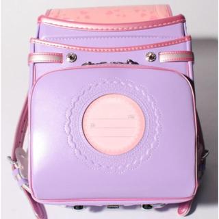 フワリー(Fuwaly)の新品 定価56160円 ふわりぃ スミレ×ピンク色 大幅お値下げ‼️(ランドセル)