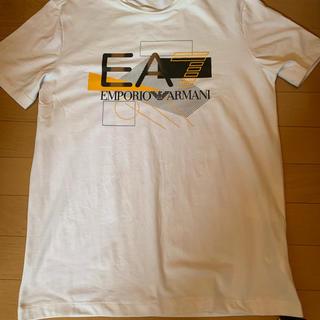 Emporio Armani - 新品 エンポリオアルマーニ EA7 ホワイト Tシャツ
