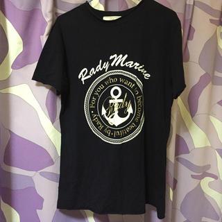 レディー(Rady)のRady メンズ マリンTシャツ(Tシャツ/カットソー(半袖/袖なし))