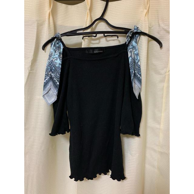 mysty woman(ミスティウーマン)の肩出しトップス レディースのトップス(Tシャツ(半袖/袖なし))の商品写真