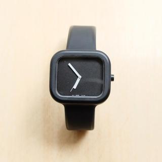 ムジルシリョウヒン(MUJI (無印良品))のシリコンウォッチ  M ブラック(腕時計(アナログ))