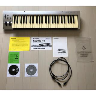 ☆美品☆ midiキーボード M-AUDIO KeyRig49(MIDIコントローラー)