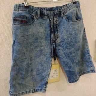 ディーゼル(DIESEL)のDIESEL JOGG ジーンズショーツ 半ズボン サイズ 32 ブルー 迷彩(ショートパンツ)
