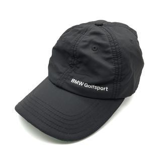 BMW - BMW ビー・エム・ダブリュー Golfsport メンズ キャップ 黒