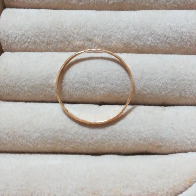 カズ様専用K18リング レディースのアクセサリー(リング(指輪))の商品写真