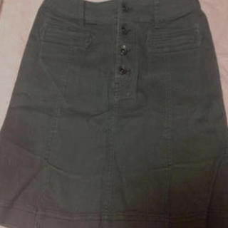 イーストボーイ(EASTBOY)の新品EASTBOYカーキタイトスカート☆(ひざ丈スカート)