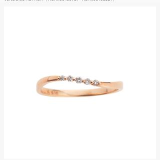 ヴァンドームアオヤマ(Vendome Aoyama)のヴァンドーム青山 ダイヤモンド ピンキーリング 1号(リング(指輪))