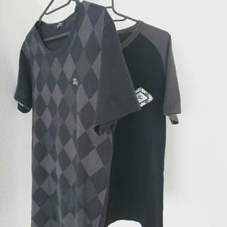 バーバリーブラックレーベル(BURBERRY BLACK LABEL)の【MEN'S】Tシャツ2枚セット(Tシャツ/カットソー(半袖/袖なし))