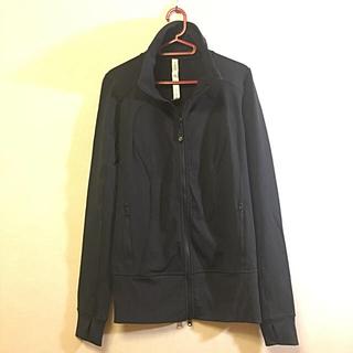 ルルレモン(lululemon)のルルレモン ロングジャケット 黒 サイズ6 ヨガ(ヨガ)