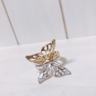 クレアーズ(claire's)のバタフライ リング 指輪 蝶々 ケイティーペリー コラボ(リング(指輪))