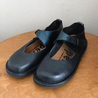 トリッペン(trippen)の■トリッペン trippen 35 ■ネイビー  ■箱付き(ローファー/革靴)
