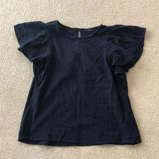 カスタネ(Kastane)の紺色 トップス(シャツ/ブラウス(半袖/袖なし))