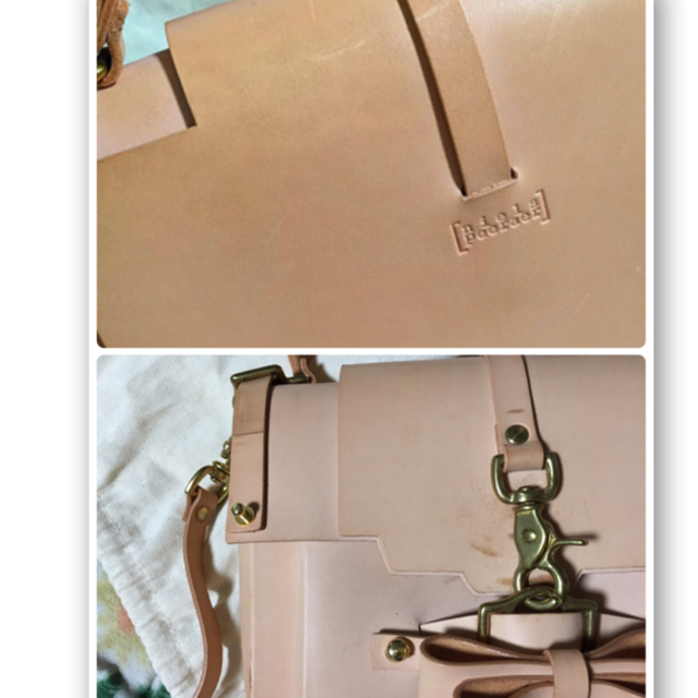 nielspeeraerヌメ革バッグ初期 レディースのバッグ(ショルダーバッグ)の商品写真