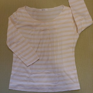 ベルメゾン(ベルメゾン)の七分袖ボーダーシャツ・Style Note【日本製】(カットソー(長袖/七分))