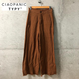 CIAOPANIC TYPY - 【CIAOPANIC TYPY】カラミ織り ワイドパンツ M