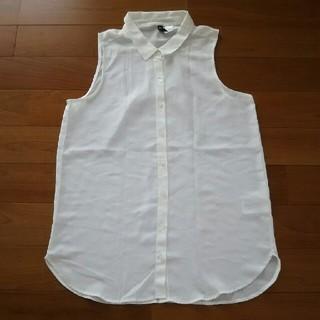 エイチアンドエム(H&M)のH&Mトップス(シャツ/ブラウス(半袖/袖なし))