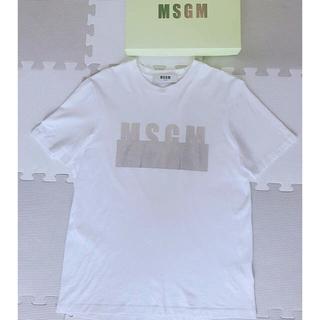 エムエスジイエム(MSGM)のMSGM ロゴTシャツ★正規品(Tシャツ(半袖/袖なし))