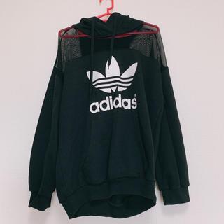 adidas - adidas リタオラ コラボ シースルー パーカー
