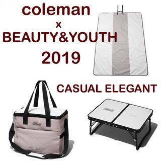 コールマン(Coleman)のyuu♡様 コールマン x BY コラボ2019 ミニテーブルプラス他3点セット(テーブル/チェア)