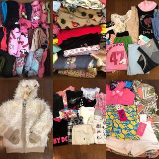 ロニィ(RONI)の子供服100着♡服箱♡USED&新品お買い得セット(その他)
