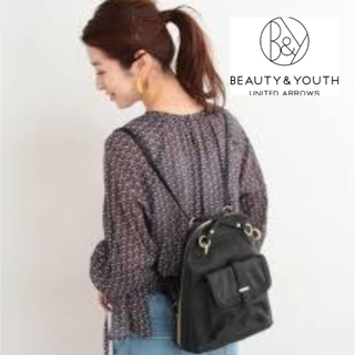 【BEAUTY&YOUTH UNITEDARROWS 】2way リュック