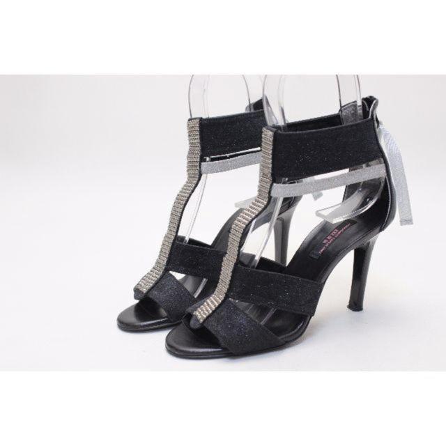 VII XII XXX(セヴントゥエルヴサーティ)の94■VII XII XXX 本革バックZIPサンダル(34半)美品♪ レディースの靴/シューズ(サンダル)の商品写真