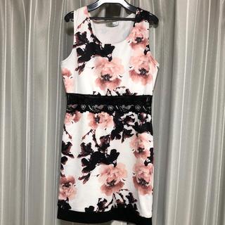 dazzy store - フラワーミニドレス