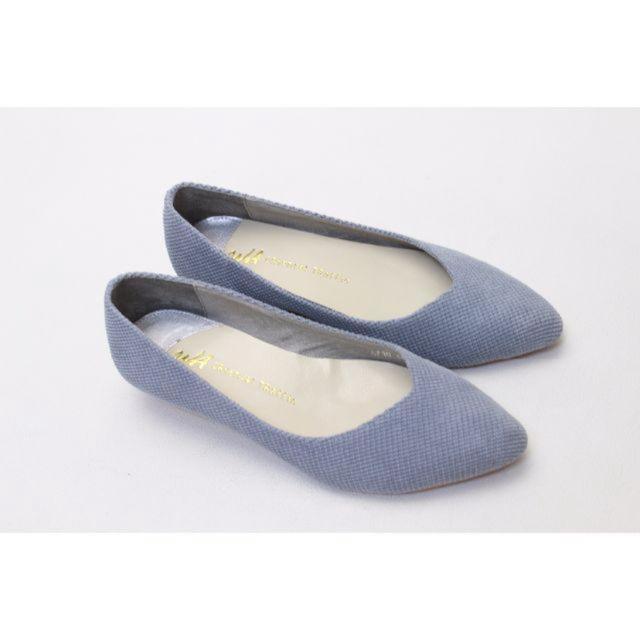 ORiental TRaffic(オリエンタルトラフィック)の117■ORiental TRaffic ローヒールウエッジパンプス(34)美品 レディースの靴/シューズ(ハイヒール/パンプス)の商品写真