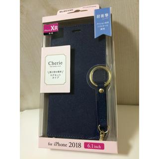 エレコム(ELECOM)のiPhone XR 手帳型ケース ネイビー スマホケース アイフォーン Ch(iPhoneケース)