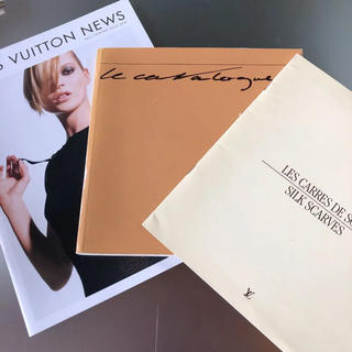LOUIS VUITTON - ルイヴィトンのカタログ  3冊