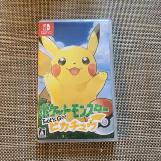 ニンテンドースイッチ(Nintendo Switch)のポケモン  スイッチ ピカチュウ(家庭用ゲームソフト)