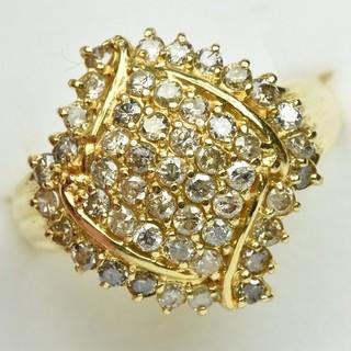 専用です K18 ゴールド 1.00ct ダイヤモンドリング 15号 指輪  (リング(指輪))