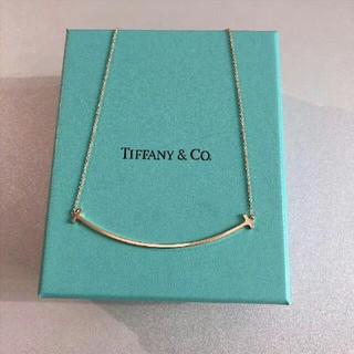Tiffany & Co. - 最終値下げ ティファニー Tスマイル ネックレス