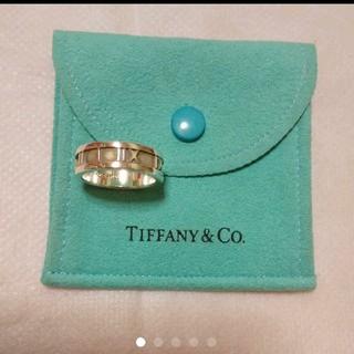 ティファニー(Tiffany & Co.)のティファニー アトラス リング*指輪*保存袋付き(リング(指輪))