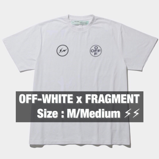 M】OFF-WHITE c/o FRAGMENT CEREAL T-SHIRTS