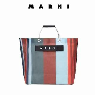 Marni - マルニ フラワーカフェ バック ラッカーレッド