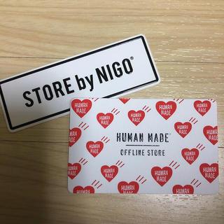 エグザイル トライブ(EXILE TRIBE)のHUMAN MADE ショップカード(その他)