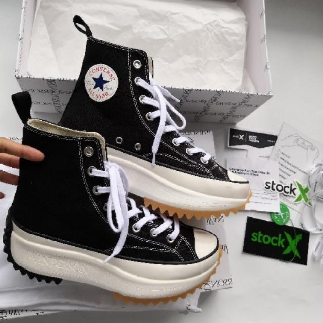 CONVERSE(コンバース)のConverse JW Anderson Run Star hike 24.5 メンズの靴/シューズ(スニーカー)の商品写真