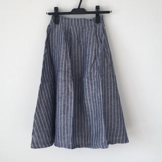 ウィゴー(WEGO)の新品*WEGO*リネンユニオンスカート(ひざ丈スカート)