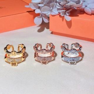 エルメス(Hermes)のエルメス  Hermès 指輪 リング 男女通用 ダイヤモンド(リング(指輪))