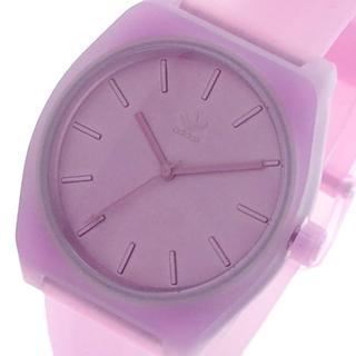 アディダス(adidas)のアディダス ADIDAS 腕時計 レディース クォーツ パープル クリアピンク(腕時計)