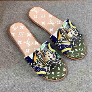 LOUIS VUITTON - LOUIS VUITTON  靴/シューズ サンダル パンプス  サイズ37
