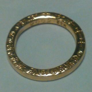 クロムハーツ(Chrome Hearts)のクロムハーツ 22k 金 ゴールド NTFLリング 日本12号 正規品 鑑定済(リング(指輪))