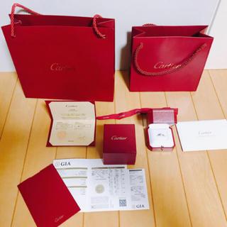 カルティエ(Cartier)のカルティエ バレリーナ 超美品 付属品保証書付き クーポン(リング(指輪))