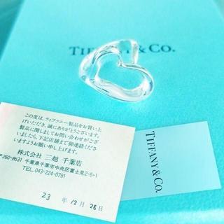 ティファニー(Tiffany & Co.)の☆新品☆未使用☆ティファニー オープン ハート リング9号(リング(指輪))